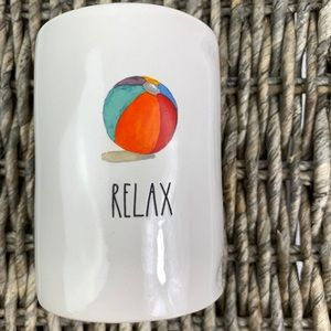 Rae Dunn Relax Candle